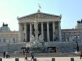 Vienna Pictures Landmarks: Austrian Parliament