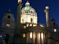 Vienna Pictures Landmarks: Church St. Charles Borromeo