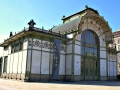 Vienna Pictures Landmarks: Otto Wagner Pavilion