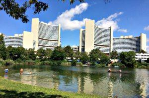 Boat Trips: UN Headquarters, Vienna Danube