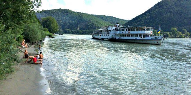 Boat on the Danube in Wachau