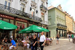 Mini Danube Cruise: Bratislava city center