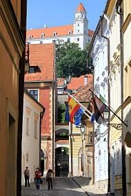 Mini Danube Cruise: Bratislava center