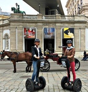 Things to do in Vienna April: Segway tour