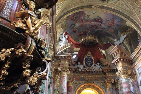baroque period in Vienna: Jesuit Church