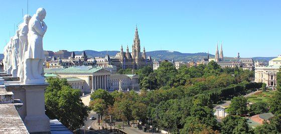 Best rooftop views in Vienna