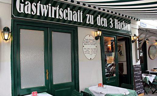 Vienna Restaurants best roast: Zu den Drei Hacken