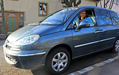 Vienna Budapest Prague: rental car