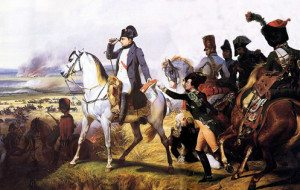 Napoleon at Battle of Wagram