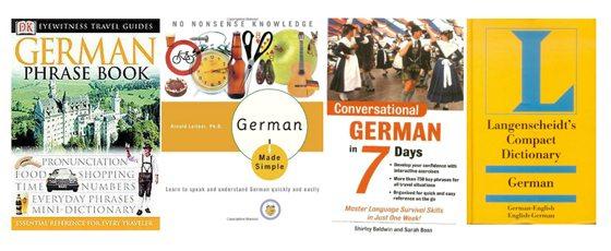 Learn German books
