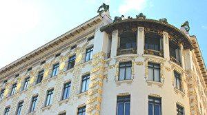 Art Nouveau Walk Vienna: Otto Wagner house