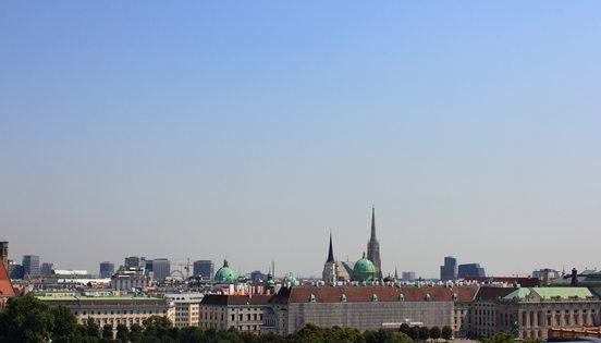 Vienna Austria Weather: city skyline