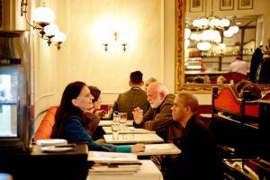 Vienna Coffeehouse Conversation: participants