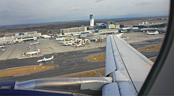 Vienna international airport Schwechat