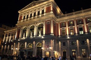 Things to do in Vienna December: Musikverein