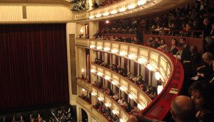Vienna Opera House: auditorium
