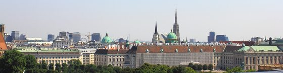 Vienna Tourism Guide: view from Palace of Justice