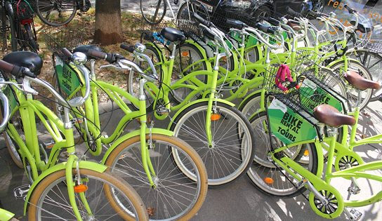 rental bikes in Vienna