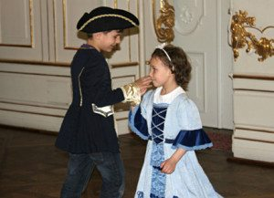 Vienna Austria Things to Do: quadrille dancing for kids