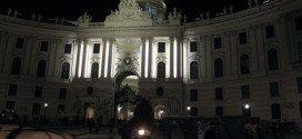 Vienna by night: Hofburg