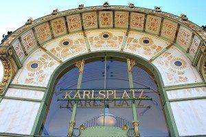 Art Nouveau Walk Vienna: Otto Wagner Pavilion