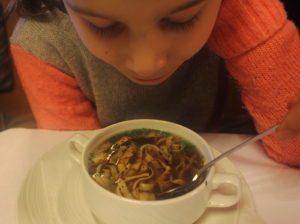 Austrian food: Fritattensuppe