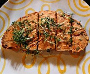 Austrian food: Liptauer bread