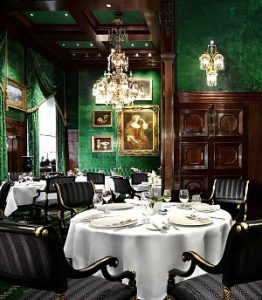 Christmas Dinner and Christmas Day in Vienna: restaurant Anna Sacher