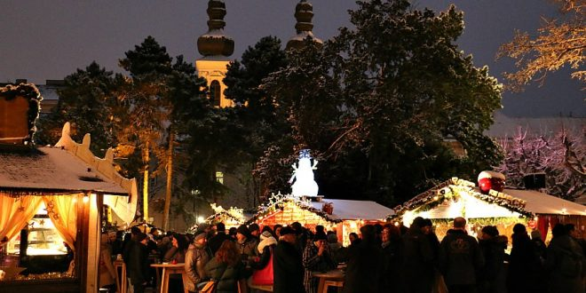 Christmas dinner and Christmas day in Vienna: Christmas Market Altes AKH
