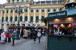 Things to do in Vienna December: Schonbrunn Christmas market