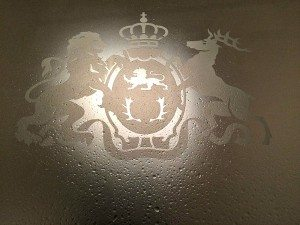 Hotel Imperial Vienna: shower door