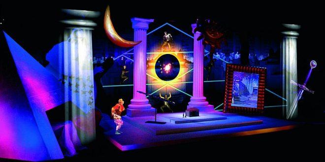 Mozart Operas: installation of Mozart's Magic Flute