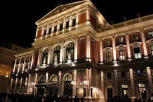Things to do in Vienna April: Wiener Musikverein