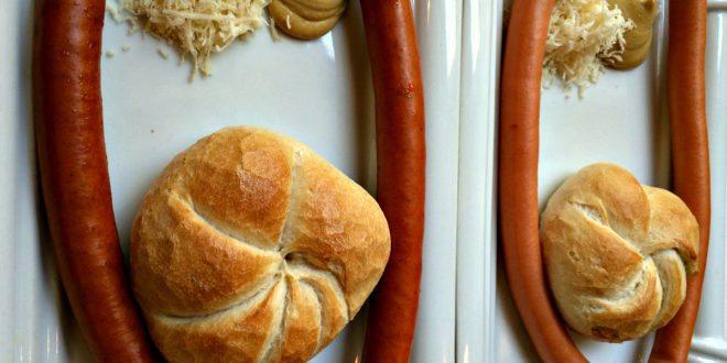 sausage stands in Vienna: Frankfurters