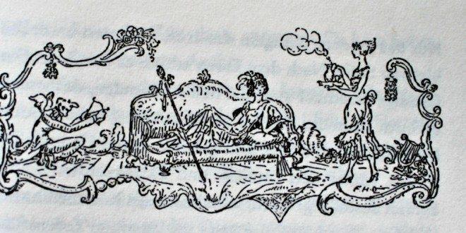 Romane in Österreich: Buchillustration von Fritz von Herzmanovsky Orlando