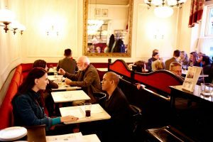 Things to do in Vienna August: Vienna Coffeehouse Conversation