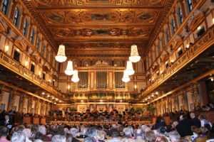 Things to do in Vienna May: Golden Hall at Musikverein