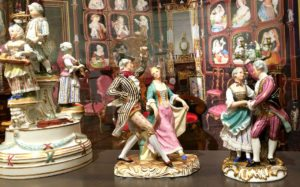 Things to do in Vienna November: figurines at Imperial Furniture Collection