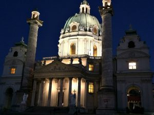 Things to do in Vienna October: Karlskirche