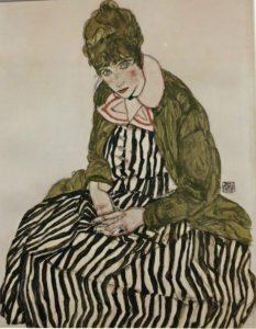 Vienna 1900: Edith Schiele, 1915, by Egon Schiele