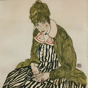 Vienna Art: Wally Neuzil by Egon Schiele