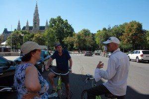 Vienna Tourism Calendar: bike tour