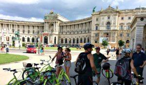 Vienna Tour by Bike: Neue Burg, Hofburg