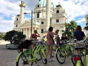 Vienna bike tour: Karlskirche