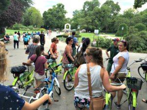 Vienna bike tour: Stadtpark