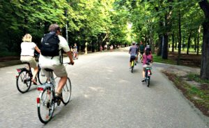 Things to do in Vienna August: city bike tour