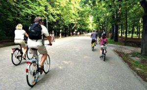 Vienna bike tour: Prater boulevard