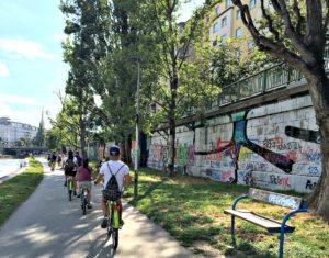 Vienna bike tour: Danube Canal