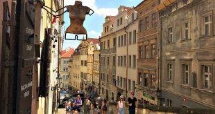 Vienna Budapest Prague: Mala Strana quarter