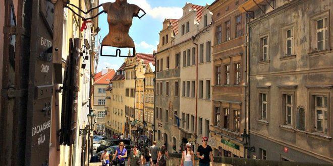 Wien Budapest Prag: Mala Strana Viertel